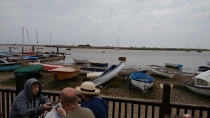 The quayside at Orford