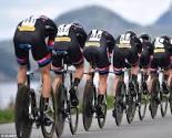 Six cyclists
