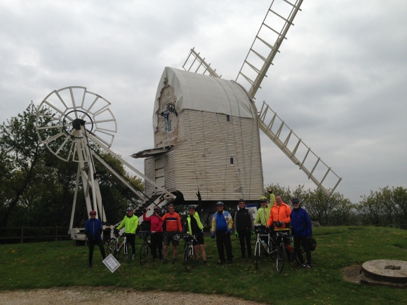 Great Chishill Windmill 20 April 2017