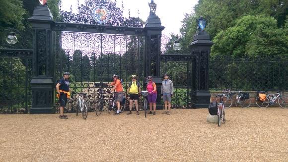 Wells ride Sandringham gates