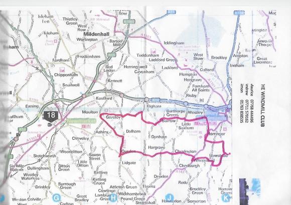 Bike ride 31 August 2017