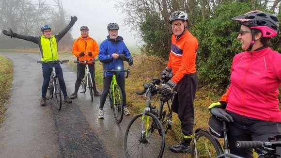 Bike ride 21 December Foggy Five