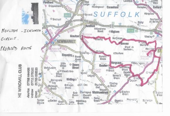 Moulton Ickworth circuit 2
