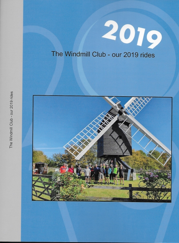 The Windmill Club - our 2019 rides, front cover